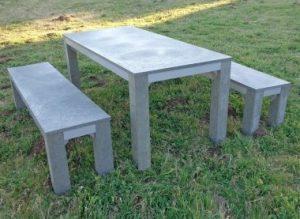 mesa plástico reciclado