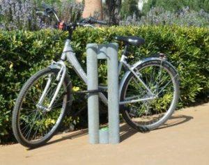 aparcamiento bicicleta de plástico reciclado