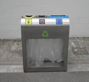 Punto limpio tres residuos