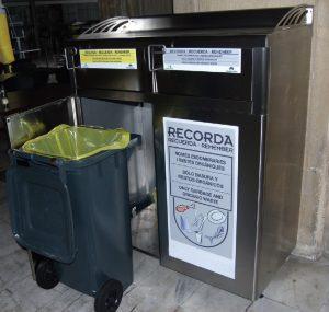 Recogida residuos hosteleria