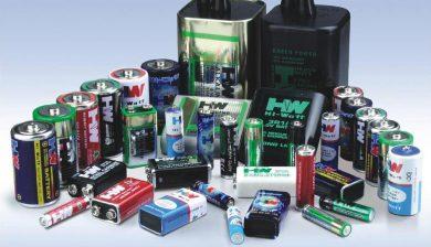 pilas y baterias